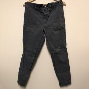 Worn ankle jcrew cargo pants!